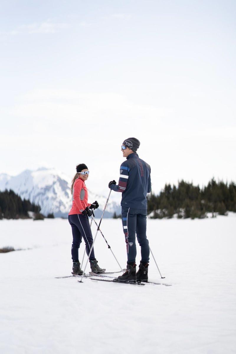 ski de fond rossignol
