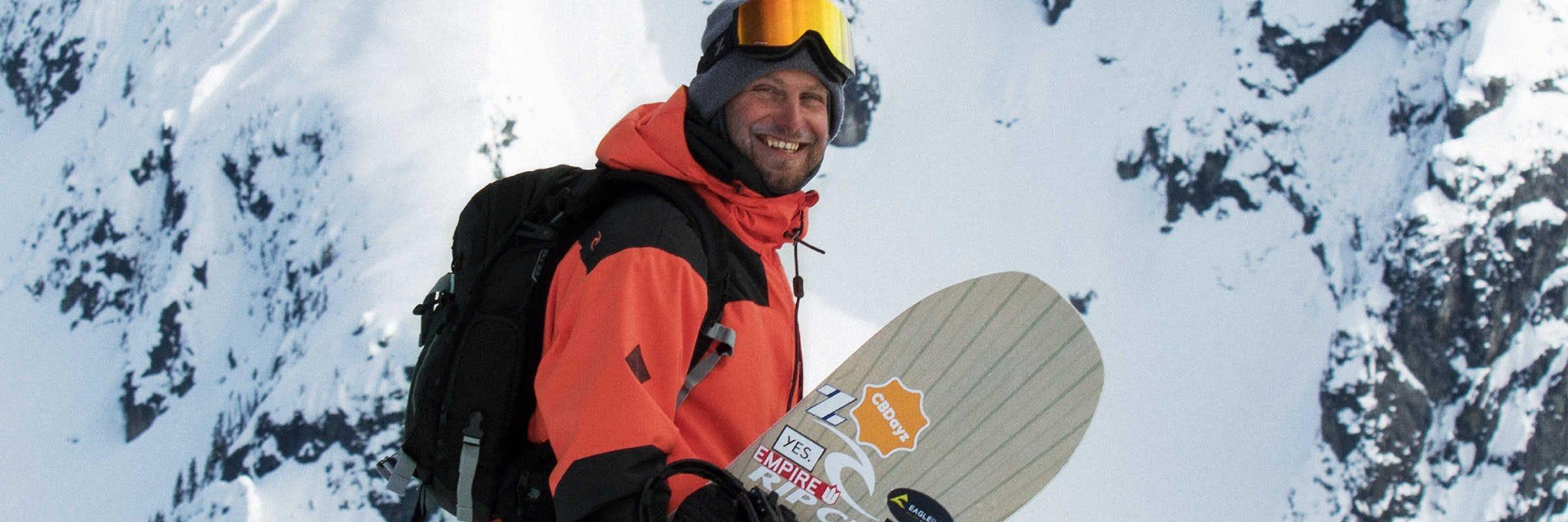 DCP pour Rip Curl: Le snowboarder canadien nous parle de sa carrière et de The Search