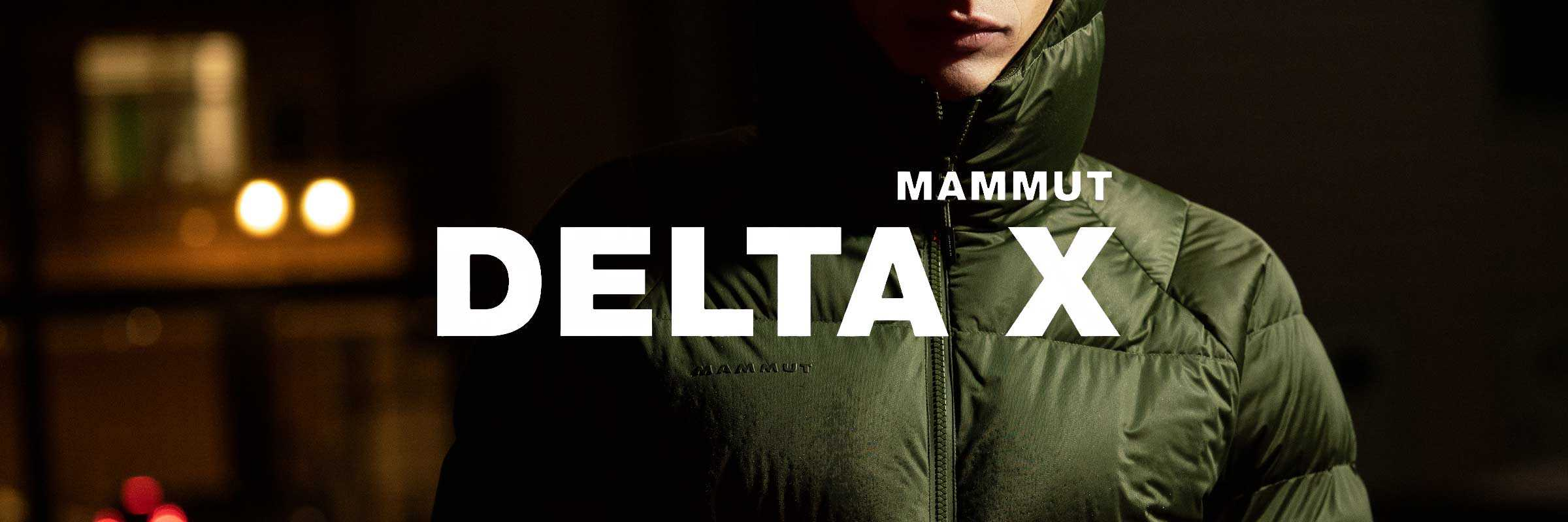 Mammut Delta X: Performance Apparel for the Urban Environment