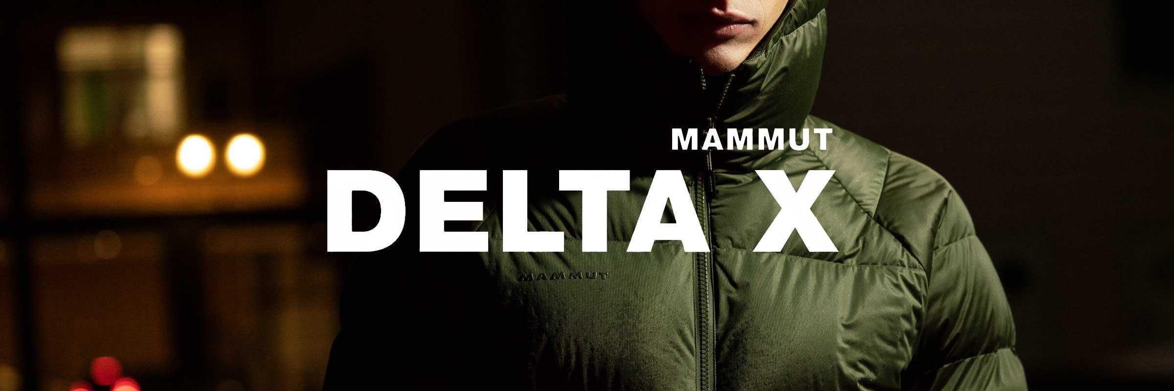 Collection Delta X de Mammut: Les performances de la vie urbaine