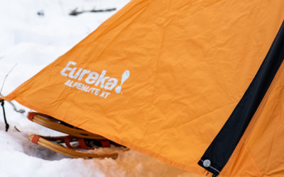Camping, eureka, winter camping. Eureka Alpenlite 2XT Review.