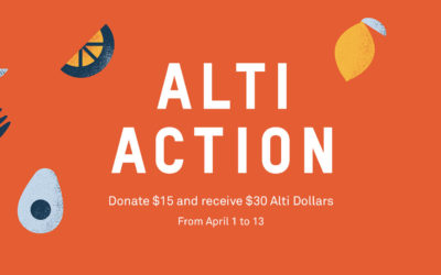 . Alti Action: Donate & Save.