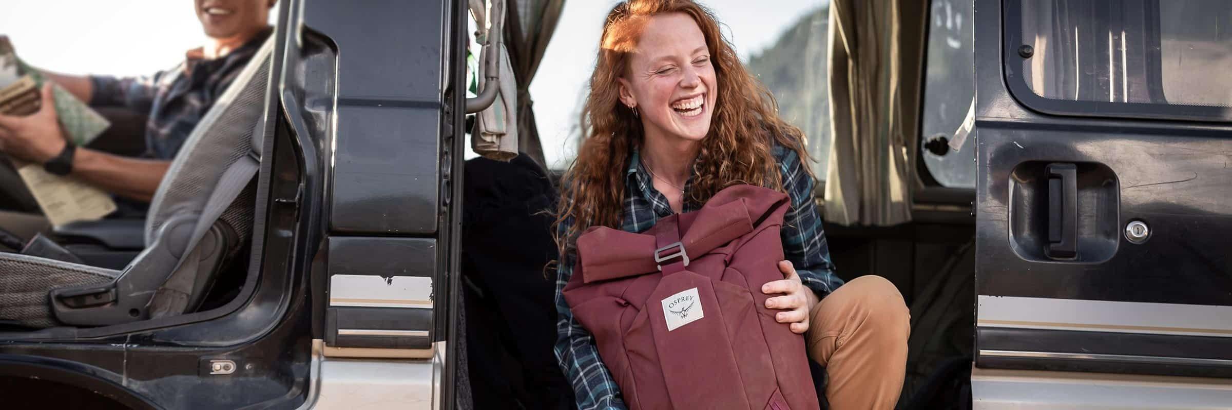 Backpacks, cycling, hiking, hydration vests, mountain biking, Osprey, packs, trail running. Osprey's Adventure-Ready Backpacks