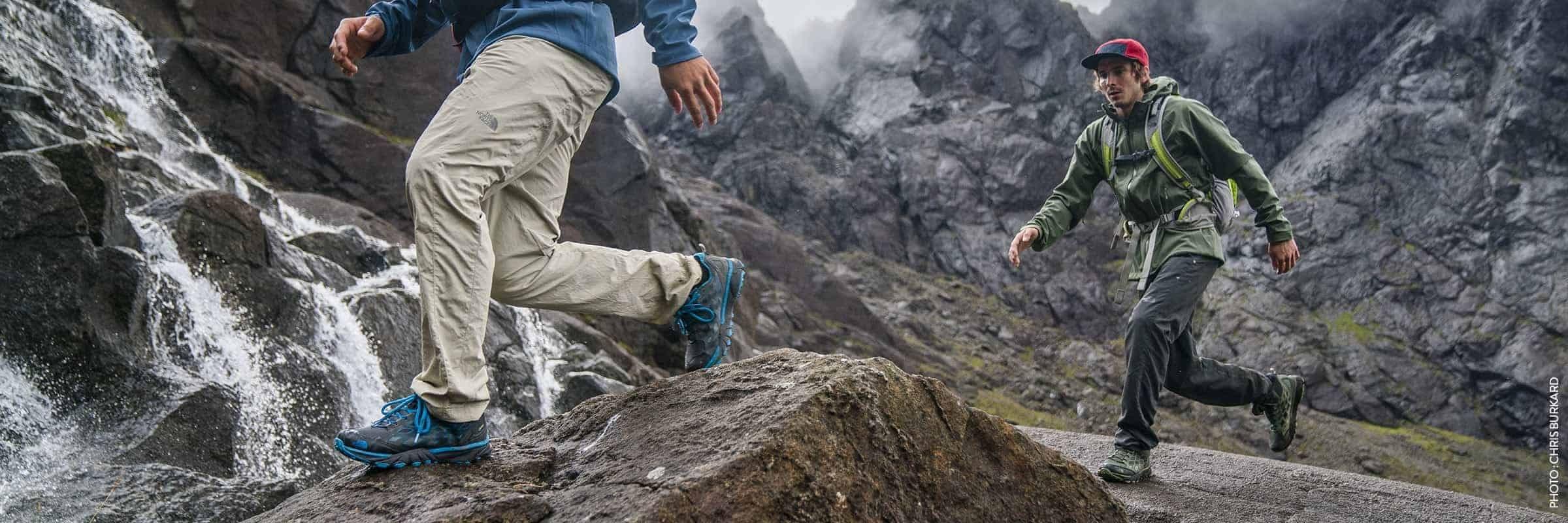 Choosing the right hiking footwear