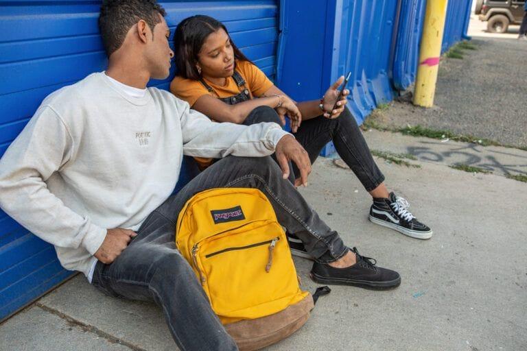 Jansport Yellow Bag