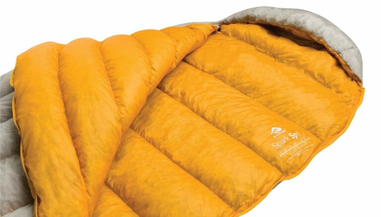 Sac de couchage Sea to Summit Spark I ouvert