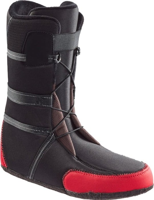 Snowboard boot inside bootie example
